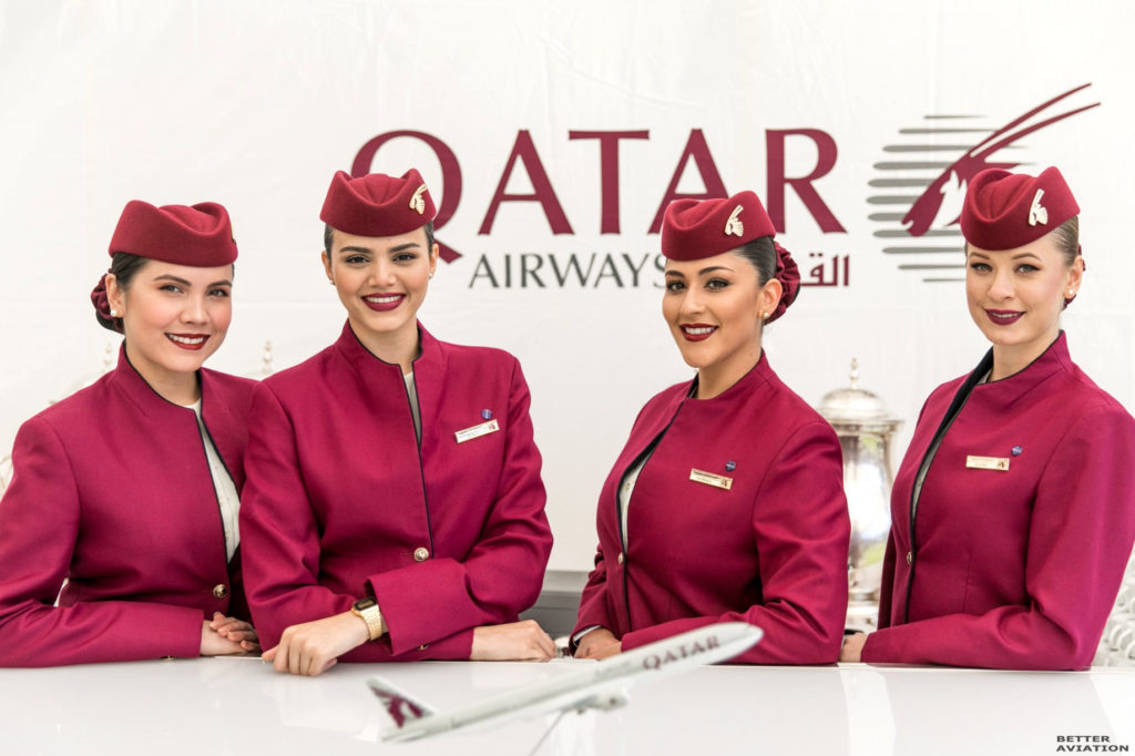 Qatar Airways Open Day For Cabin Crew - November - Apply Now - LONDON