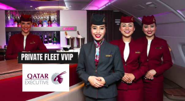 Apply For Qatar Airways Private Fleet Cabin Crew - VVIP
