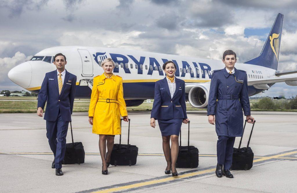 Ryanair Airways Cabin Crew Recruitment - London Apply Now