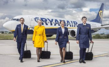 Ryanair Airways Cabin Crew Recruitment - London Apply Now