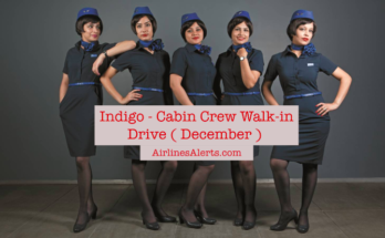 Upcoming Indigo Cabin Crew Interview - (December) - Apply Now