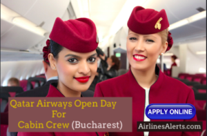 Qatar Airways Open Day For Cabin Crew in Bucharest - 8th December 2019 Apply Now