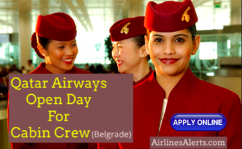 Qatar Airways Open Day Cabin Crew in Belgrade - 8th December 2019 Apply Online