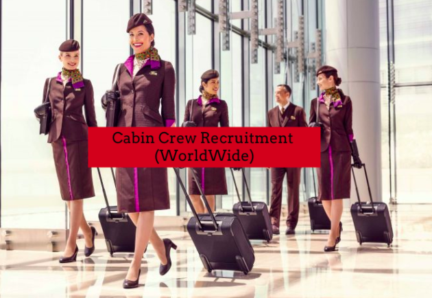 Etihad Airways Cabin Crew Recruitment [Worldwide] (Online Application) 2019