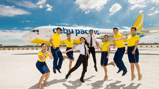 Cebu Pacific Air Cabin Crew Recruitment (Online Application) Apply Now