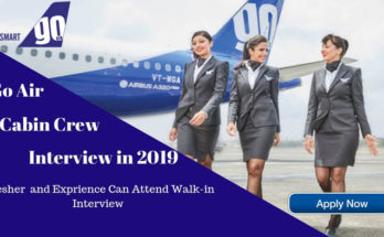 Cabin Crew Walk-In Interviews October - Go Air Females Only