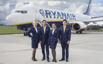 Ryanair Cabin Crew Recruitment - Dec 2019 Manchester Apply Now