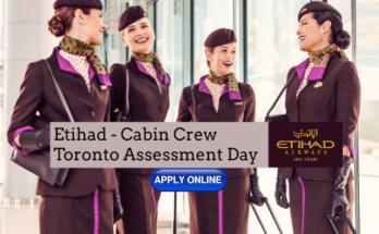Etihad Cabin Crew Recruitment - Toronto Assessment Center December 2019