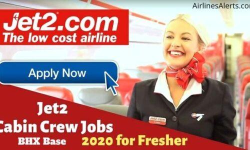 Cabin Crew Recruitment in Jet2 Com - Birmingham UK
