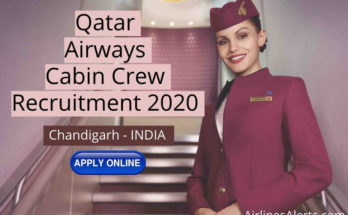 Cabin Crew Recruitment Qatar Airways (Chandigarh - India) 2020
