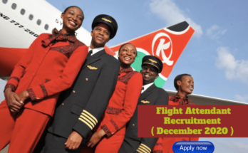 Kenya Airways Flight Attendant (Inflight Services) Recruitment