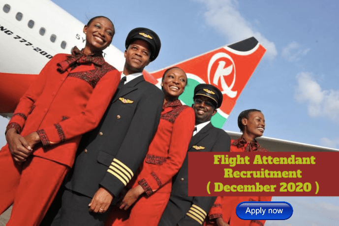 Kenya Airways Flight Attendant (Inflight Services) Recruitment
