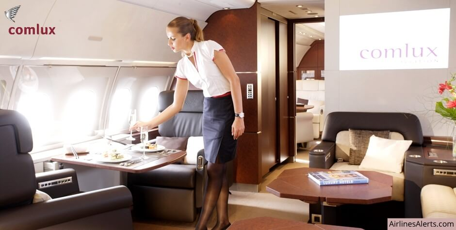 Comlux VIP A330 Cabin Attendant Recruitment (Asia Based) 2020