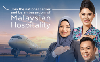 Malaysia Airlines Cabin Crew Walk-In-Interview ( Part Time) February 2020