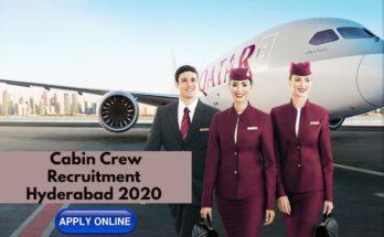 Qatar Airways Cabin Crew Recruitment ( Hyderabad ) FEB 2020
