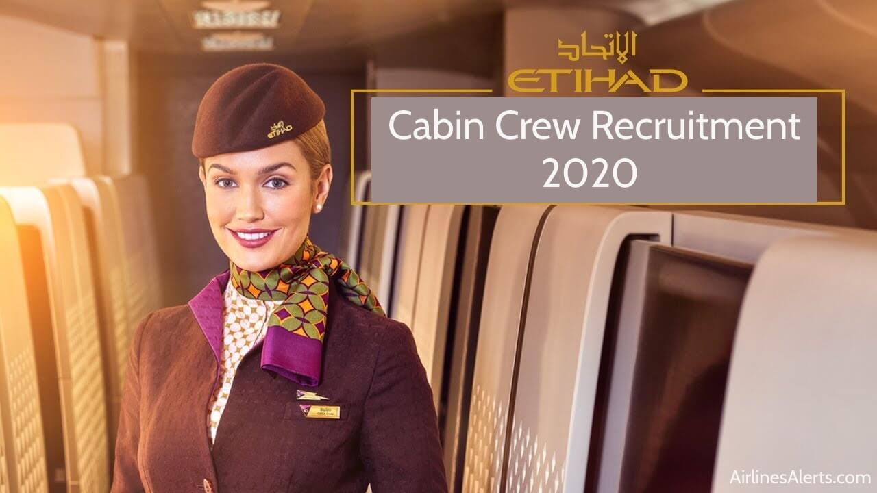 Etihad Cabin Crew Recruitment Hong Kong ( Open To All Nationalities )