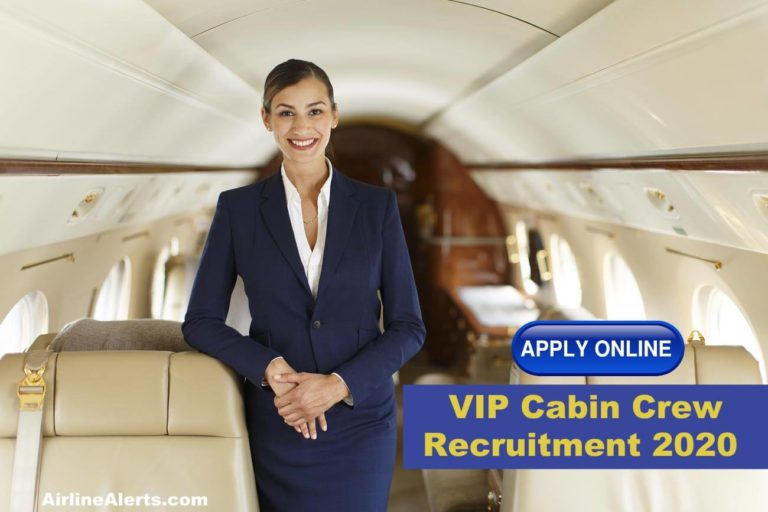 Jet Aviation VIP Cabin Crew Recruitment ( Private Jets ) Singapore