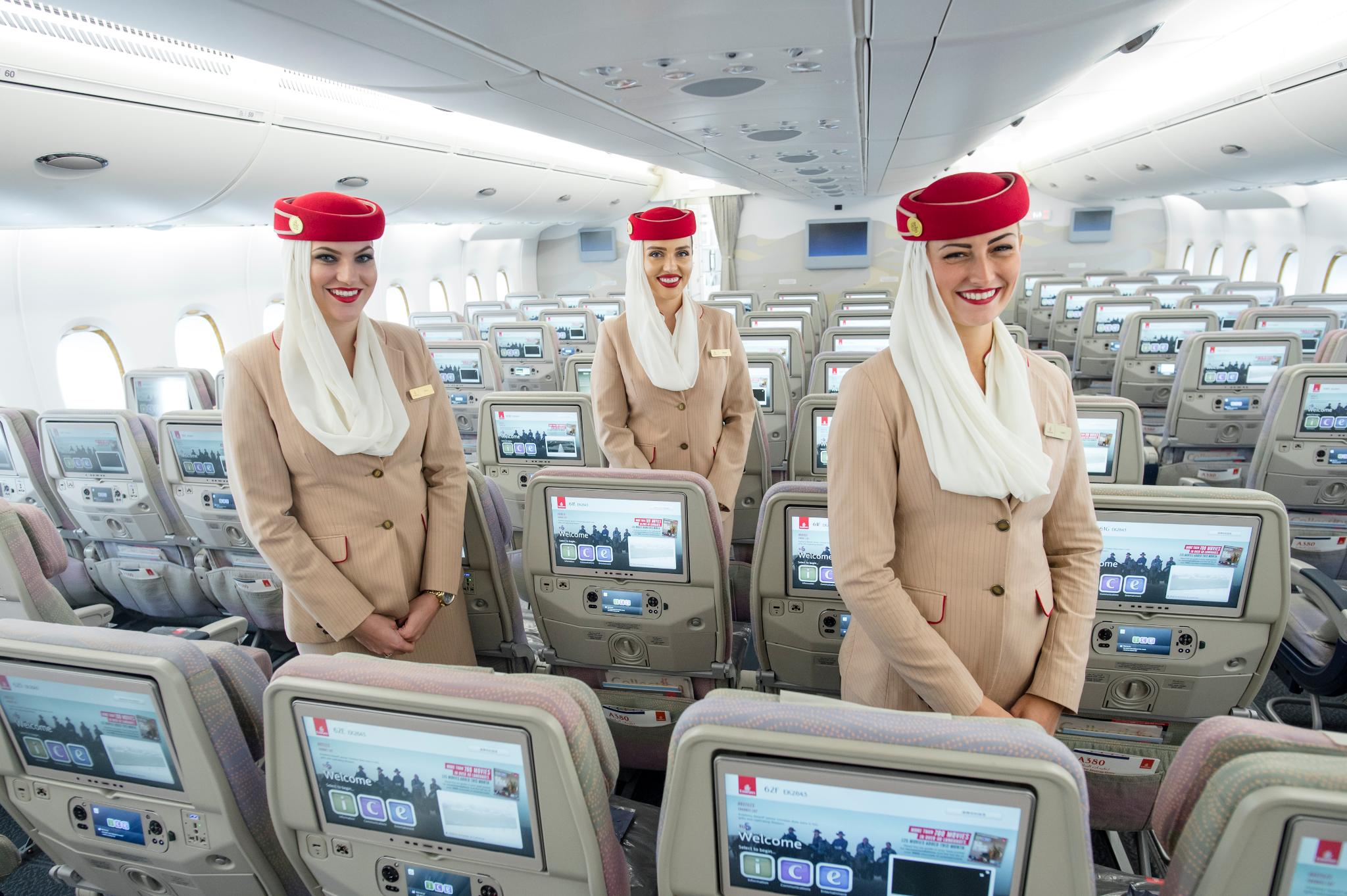 Emirates Airlines Cabin Crew Recruitment (Open Day) [ March 2020 ]