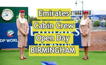 Emirates Open Day For Cabin Crew –BIRMINGHAM [ 2020 ] Apply Online