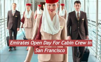 Emirates Open Day For Cabin Crew in SAN FRANCISCO - [2020]