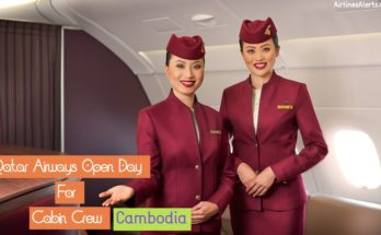 Qatar Airways Open Day For Cabin Crew - (Cambodia ) 2020 - Apply Now