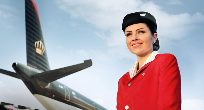 ROYAL Jordanian Cabin Crew Recruitment - (2020) - JORDAN