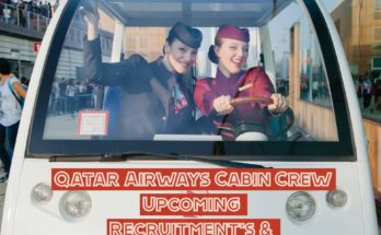 Qatar Airways Cabin Crew Recruitment List, Upcoming Open Days & Recruitment World Wide