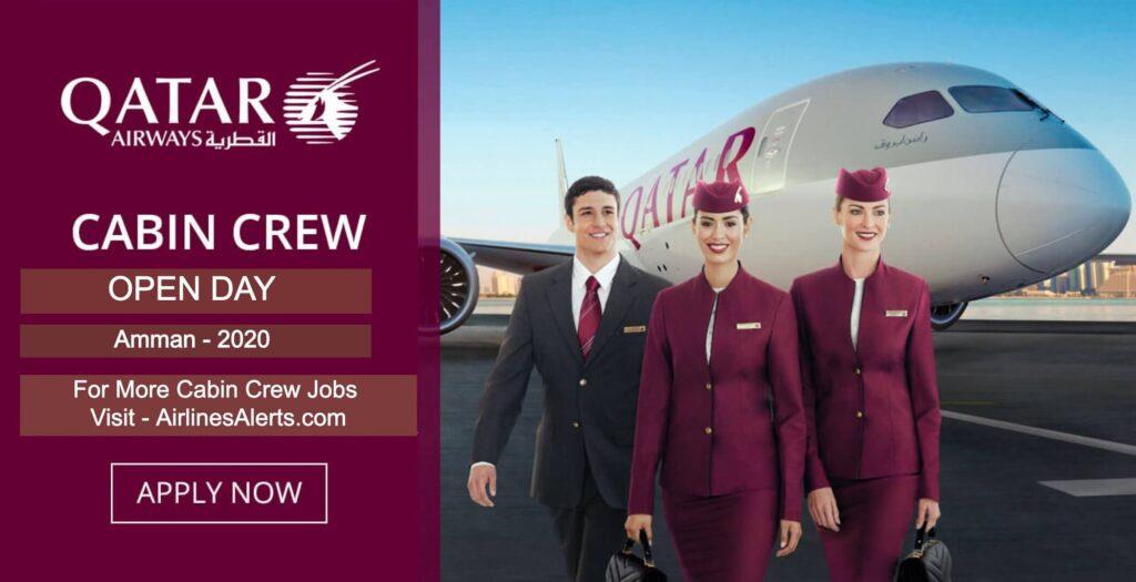Qatar Airways Open Day in Amman For Cabin Crew - (March) Apply Now