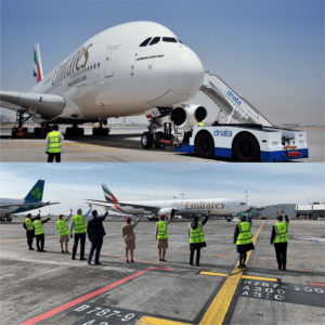 Last Flight of Emirates - Sobering Moments at the Airport