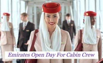 Emirates Open Day For Cabin Crew in Manchester ( March 2020 )