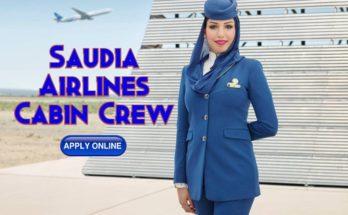Saudia Airlines Cabin Crew Recruitment 2020 - Riyadh ( Male )