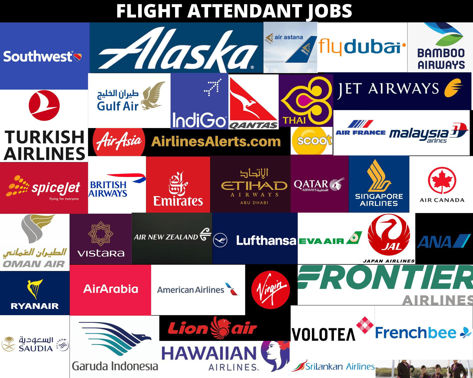 Flight Attendant Jobs , Latest Jobs For Flight Attendants 2020