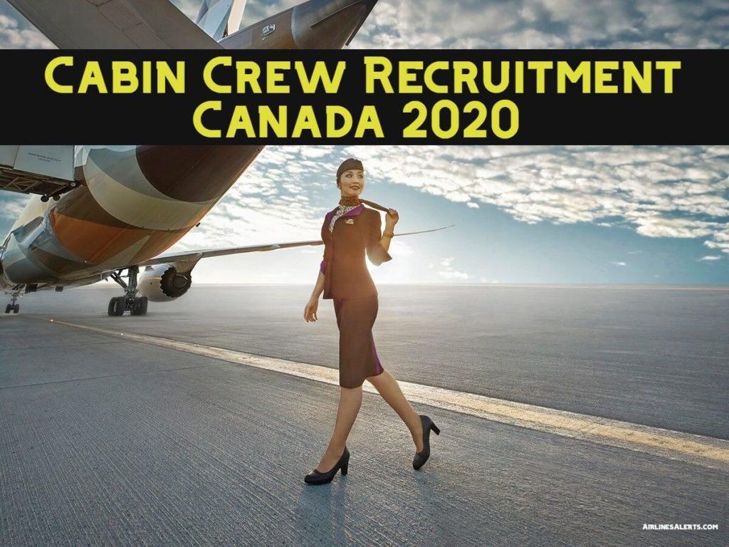 Etihad Cabin Crew Recruitment Canada 2020 ( Toronto Centre )