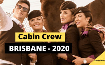 Etihad Hiring for Cabin Crew Brisbane (2020) - Apply Online