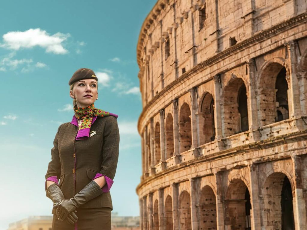 Etihad Airways Hiring for Cabin Crew ROME - Apply Online