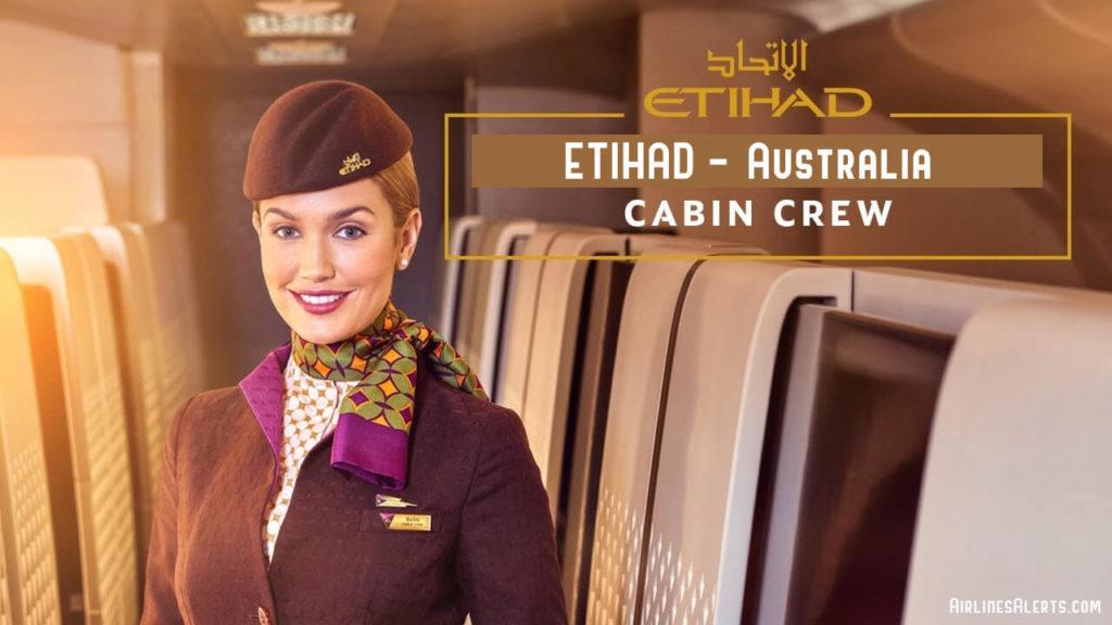 Etihad Cabin Crew Perth Recruitment 2020 - Australia
