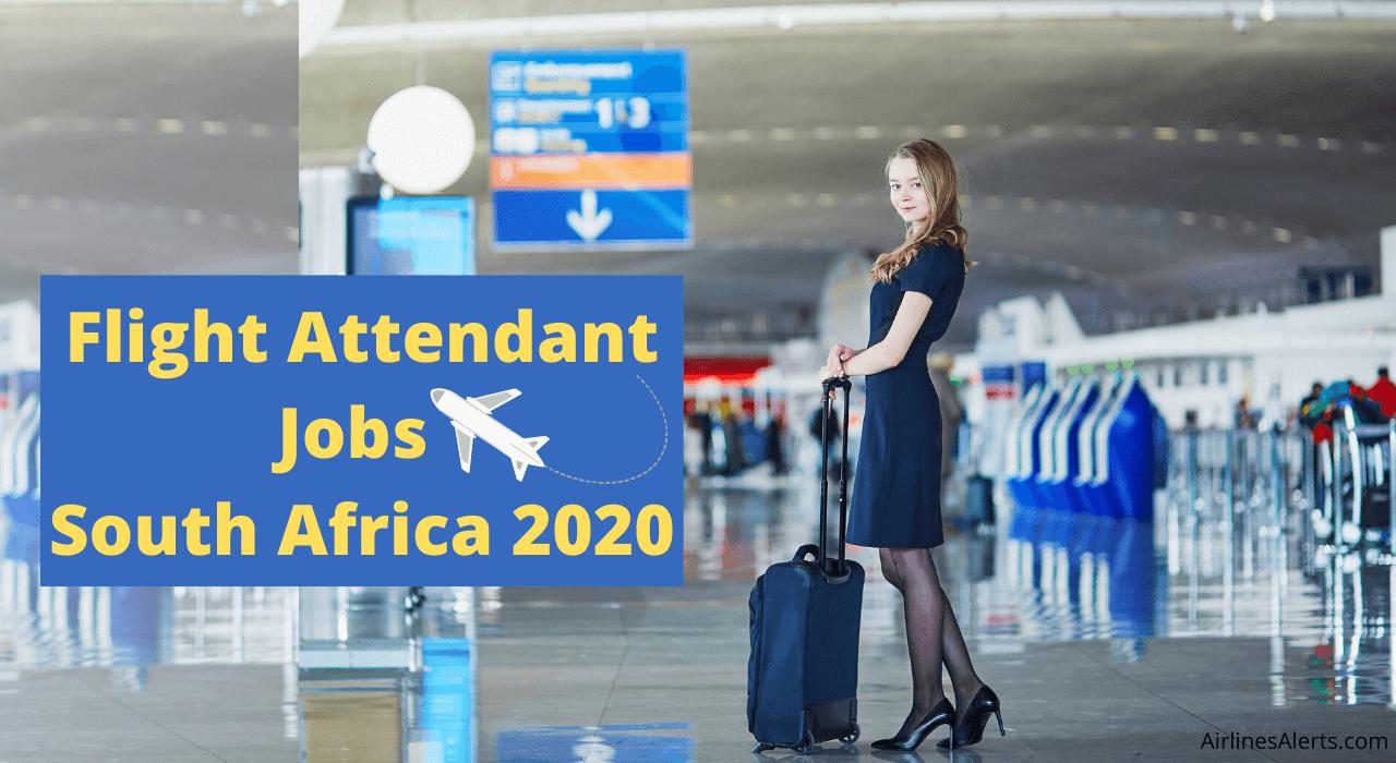 Latest Flight Attendant Jobs South Africa 2020