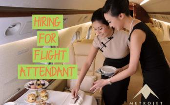 Metrojet Flight Attendant Recruitment - Eligibility & Apply Here