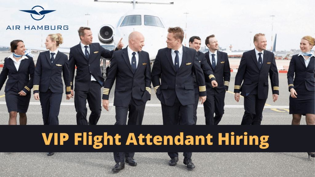 VIP Flight Attendant Recruitment Air Hamburg Germany - Apply Here