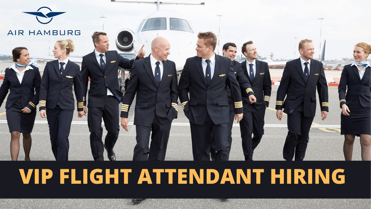 VIP Flight Attendant Recruitment Air Hamburg Germany - Apply Here