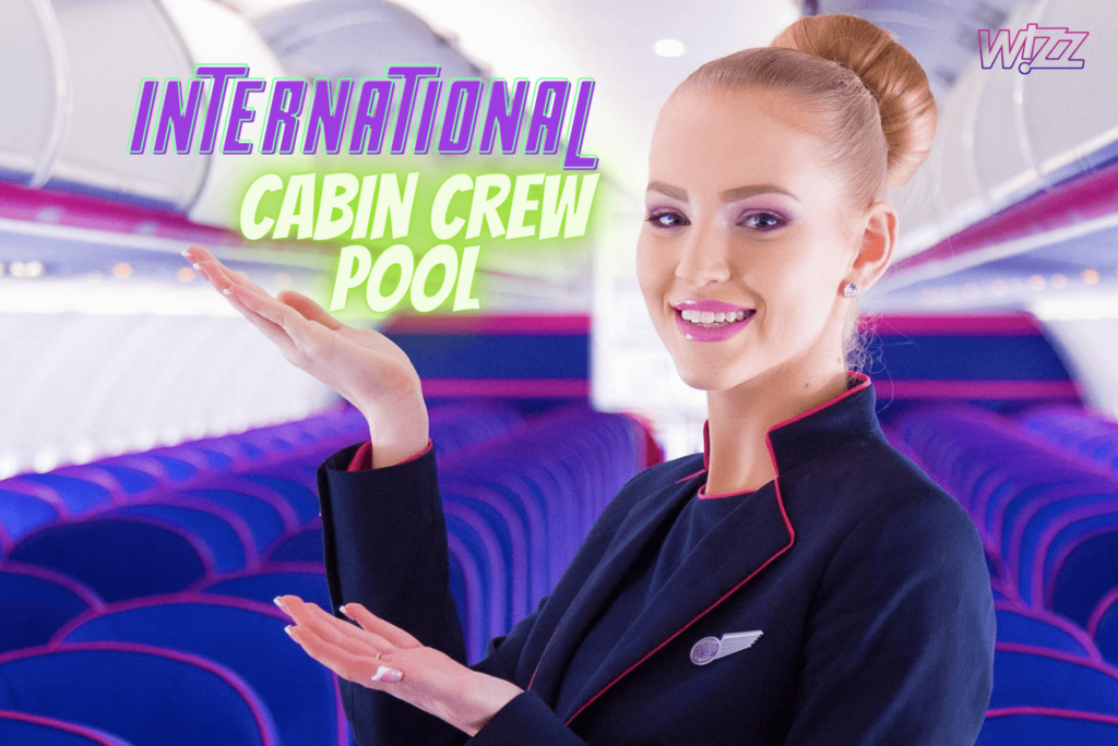 Wizz Air International Cabin Crew Pool Wizz300 Hiring Worldwide Apply Now