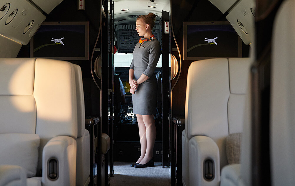 Silver Air Private Jet Cabin Attendant - Houston Based Hiring