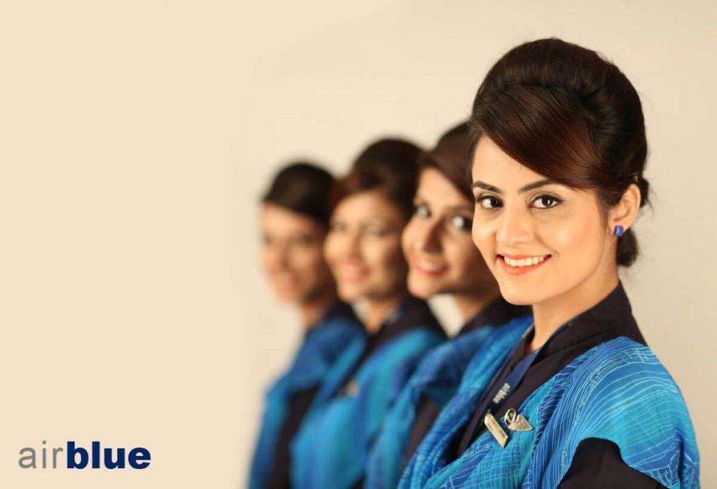 Airblue Cabin Crew Hiring MUX Airport – Apply Online 2020
