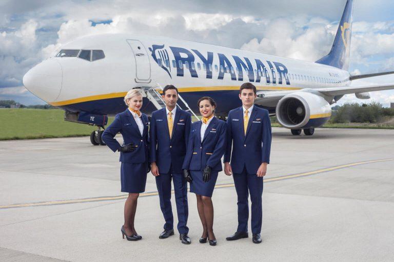 Ryanair Cabin Crew Hiring 2021 UK - Eligibility Details & Apply